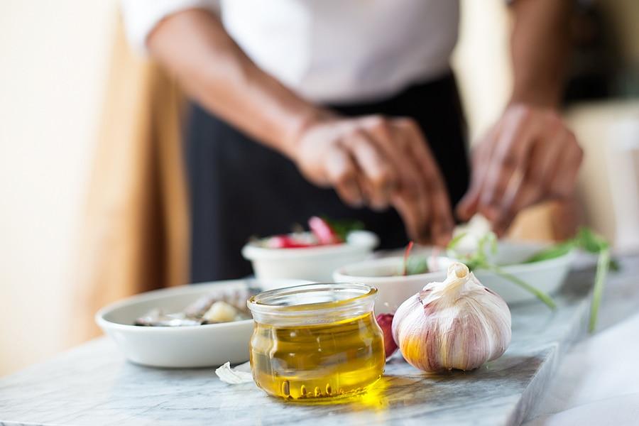 head chef nikhil fire and spice london restaurant hilton